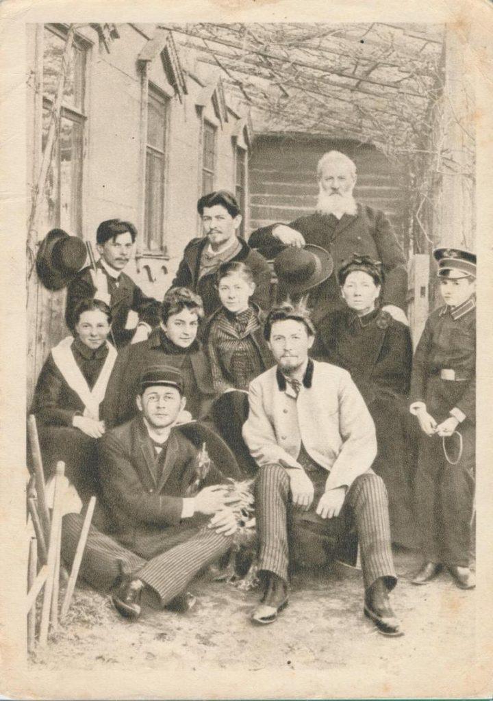 Семья Чеховых. Фотография 1890 г.