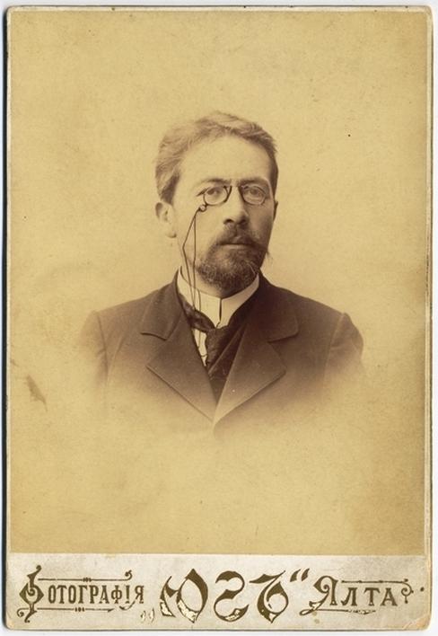 Антон Павлович Чехов. Фотография 1901 г.