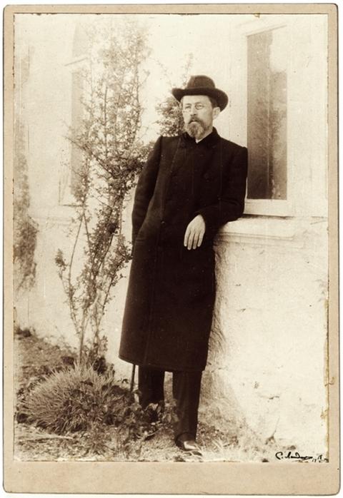 Фото. А.П.Чехов. Ялта. 1904 г.