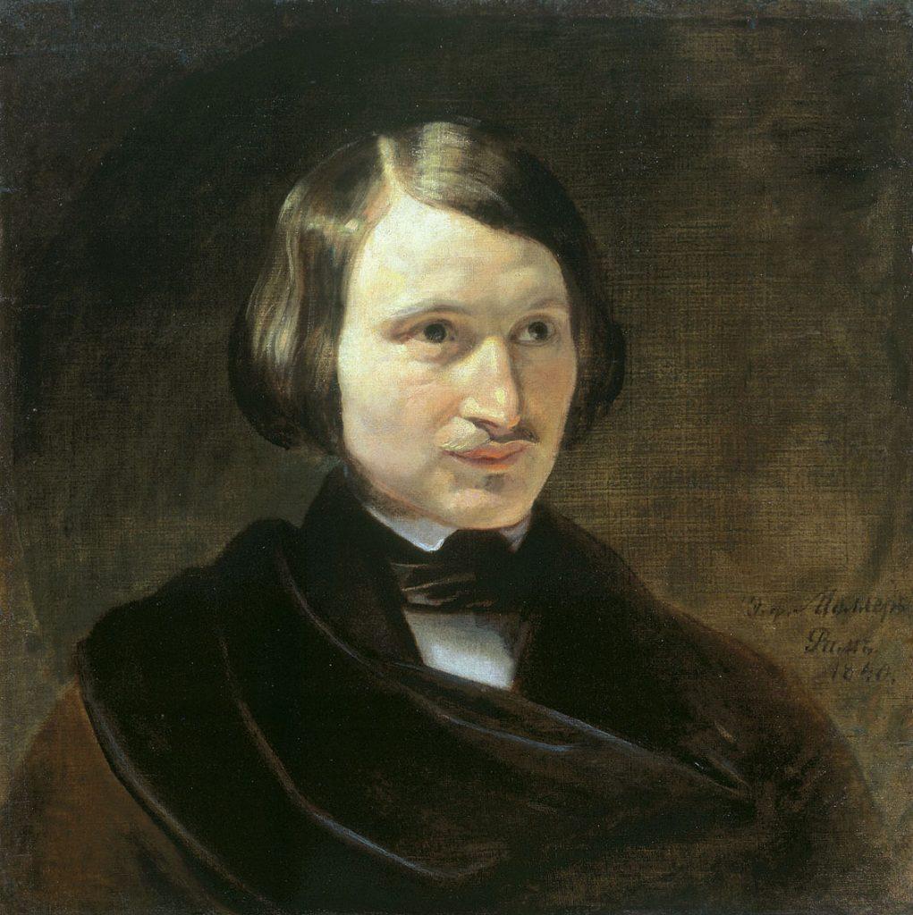 Портрет Н. В. Гоголя. Фёдор Антонович (Отто Фридрих) Моллер. 1840 год