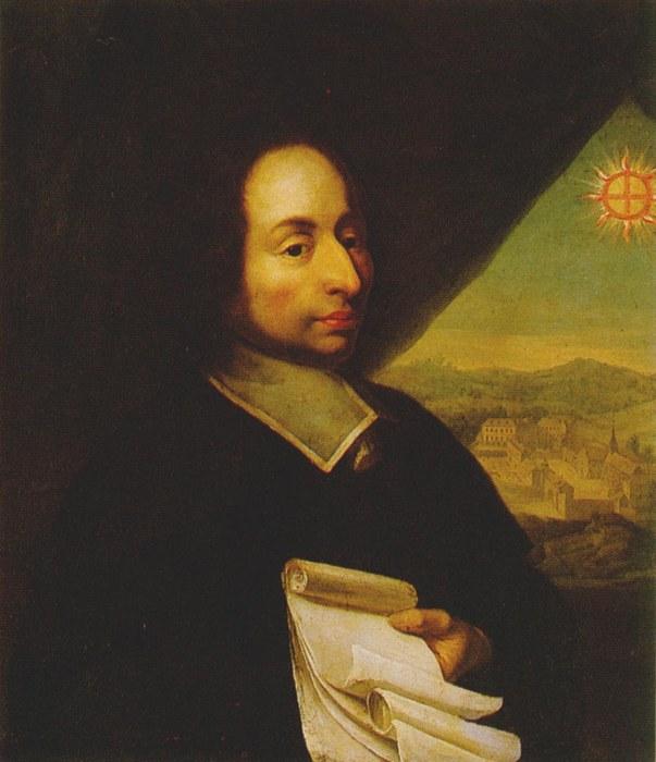 Блез Паскаль портрет