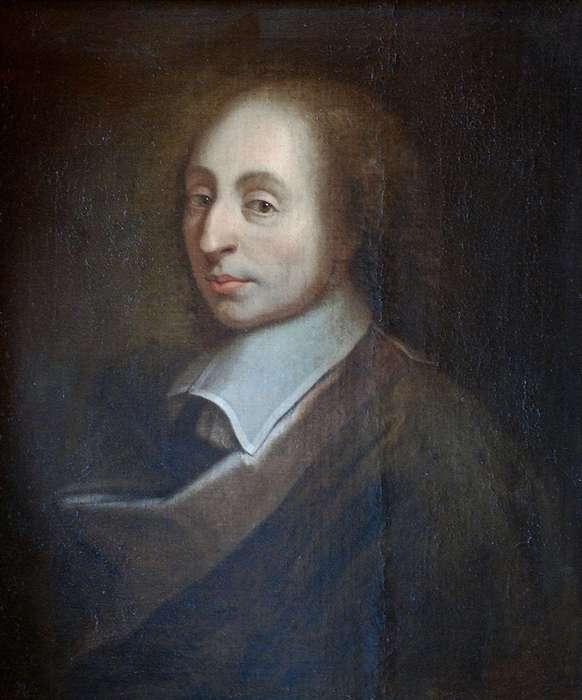 портрет Блеза Паскаля